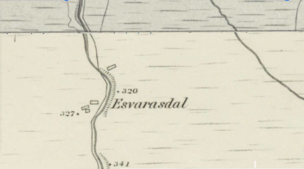 Esvarasdal then 2018-2-9 Explore georeferenced maps - Map images - National Library of Scotland
